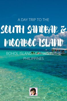 Bohol Island Hopping: A Day Trip to the South Sandbar And Mocaboc Island. Guide ... - #Bohol #day #guide #hopping #island #Mocaboc #Sandbar #South #Trip