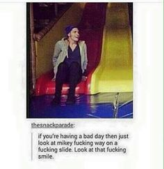 Image result for frank iero and gerard way cute