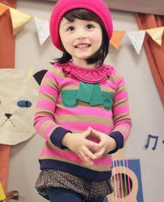 annikaアニカ シュエヌT(ピンク) - 韓国子供服amber,annikaのtsubomiかわいい輸入服のセレクトショップ