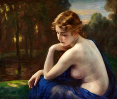 Otto Lingner - Young Woman