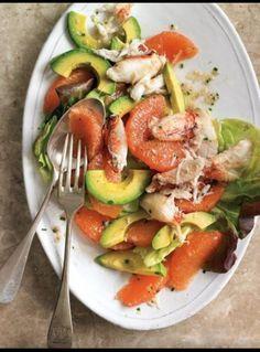 Crab Orange Salad