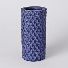 Elisium - Diamond Vase - Indigo, $42.00 (http://www.elisium.com.au/diamond-vase-indigo/)