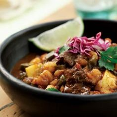 Mexican Bison Stew Recipe