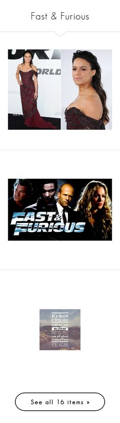 """""""Fast & Furious"""" by swerveson ❤ liked on Polyvore featuring home, home decor, other, quotes, tops, t-shirts, t shirts, cotton tee, cotton shirts and cotton t shirt"""