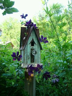 .birdhouse just waiting for some birdy friends