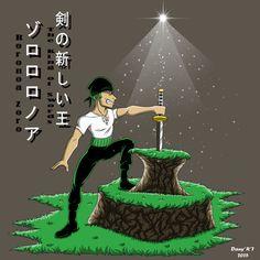 Roronoa-The King of sword(Parody-Fanart)
