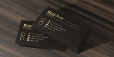 Gray Business Cards Mockup PSD