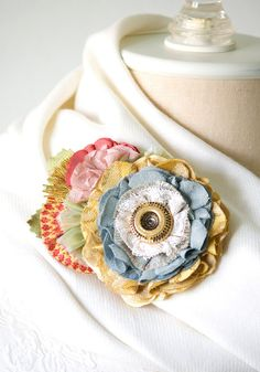 A whimsical pop of color for your wardrobe! Unique accessories handmade by Rosy Posy Designs.