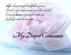 sympathy poems | Condolence Messages - Messages, Wordings and Gift Ideas