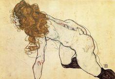 Egon Schiele, 1914