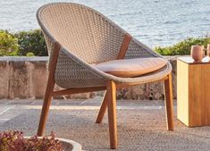 Tribu Tosca Garden Club Chair - Tribu Outdoor Furniture At Go Modern Outdoor Furniture Sofa, Modern Garden Furniture, Furniture Market, Outdoor Chairs, Outdoor Decor, Garden Club, Club Chairs, Design Firms, Seat Cushions