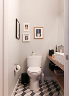 Scandinavian Bathroom by Rachel Loewen Photography