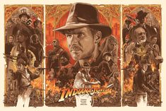 INDIANA JONES TRILOGY on Behance