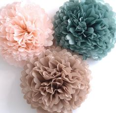 """Pk20 Black Tissue Paper Pompons For Wedding /& Party Decorations Supplies 8/"""""""