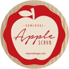 Apple Sugar Scrub   Imperial Sugar Recipe