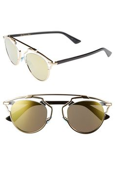 Dior 'So Real' 48mm Sunglasses   Nordstrom