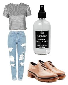 """""""easy"""" by beatriceorholm ❤ liked on Polyvore featuring Topshop, Jil Sander and Little Barn Apothecary"""