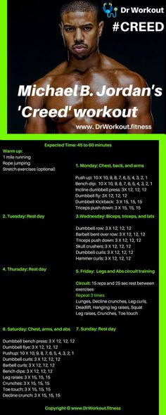Creed Workout Routine