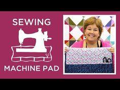 Tutorial-097 Sewing Machine Pad