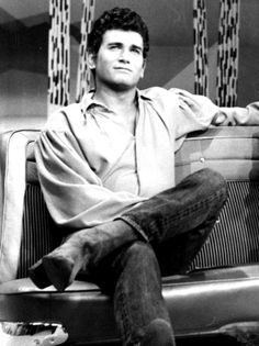 Michael Landon during his Bonanza days.  Love this picture so much! <3