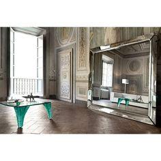 Fiam Italia Caadre free standing mirror, Phillip Stark