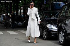 Paris – Giovanna Battaglia. #Fashion, #FW16, #GiovannaBattaglia, #HauteCouture, #Paris, #PFW, #PHC, #StreeStyle, #Street, #Style, #Woman Photo © Wayne Tippetts