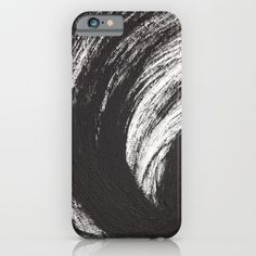 Black Brush iPhone & iPod Case by Andre D | Society6