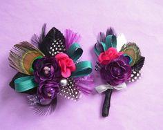 Bri's prom flowers!   Etsy - Emily Kaminsk Botanic Studio: