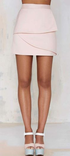 Nasty Gal Raina Layered Skirt