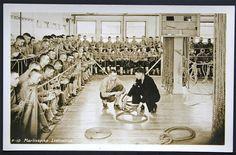 RP Sailors at Navy Training Center - Marlinspike Instruction   P527