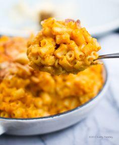 Mac and Cheeseless - uses sweet potato and butternut squash