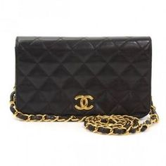 Chanel Black Quilted Mini Shoulder Bag