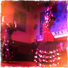 Flamenco, so exciting to go see in Spain, small club off side street.........