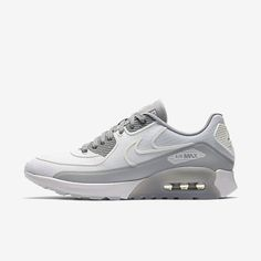 Cheap Nike Air Max 90 Ultra 2 Si White Wolf Grey Reflect Silver Sale Nike Air Max Trainers, Air Max Sneakers, Sneakers Nike, Nike Free Shoes, Running Shoes Nike, Top Air, Kicks Shoes, Cheap Nike Air Max, Nike Roshe Run
