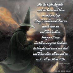 A Witch's Good Night Blessing