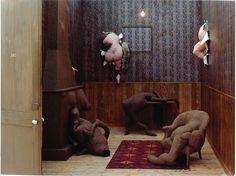 "Dorothea Tanning, ""Hotel de Pavot,"" 1970-73 - Dorothea Tanning - Wikipedia, the free encyclopedia"