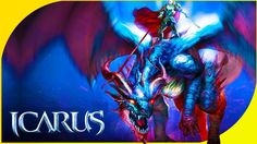 Дракон! Я выбираю ТЕБЯ! В новой MMORPG Icarus