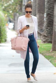 『5/22 #ジェシカ・アルバ Louis Vuitton Soft Lockit Bag』