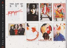1986 Athena poster catalog, these were all the range and we all had then on our walls.