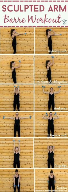 Sculpted arms barre workout