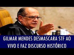 Gilmar Mendes cala a boca da esquerdista Mônica Bergamo - YouTube