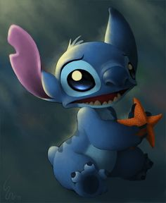 Disney Lilo and Stitch 626 Stitch, Lelo And Stitch, Lilo Y Stitch, Cute Stitch, Stitch Cartoon, Disney Kunst, Arte Disney, Disney Art, Pikachu And Stitch