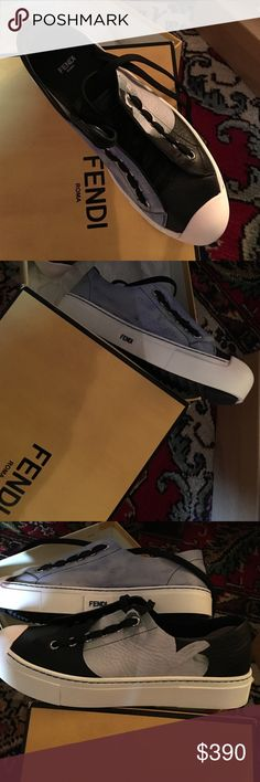 Fendi sneakers New Fendi sneakers , distressed look  Fendi Shoes Sneakers
