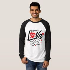 Red Heart Love Romantic Quote T-Shirt - Saint Valentine's Day gift idea couple love girlfriend boyfriend design
