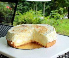 Tarte Soufflée au Citron, originale, acidulée et gourmande…