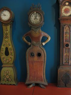 painted grandfather clocks - Google Search