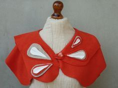 upcycled wool sweaters to capelet - Google Search