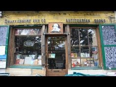 Nice Shakespeare and Company - Iconic Bookshop in Paris  Really lovely video about the famous bookstore&#... Best Quotes Love Check more at http://bestquotes.name/pin/139360/