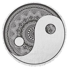 The Sea and Sand - Round Towel Co.   - 1