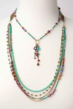 #22 Necklace Beautiful Ivory Soft Suede Leather Curly Fringe Bib Necklace Choker